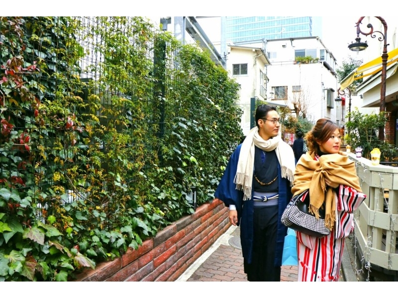 Why do not you Harajuku dating [Harajuku, Tokyo] rental kimono? ☆ couple plan ☆ Introduction to image