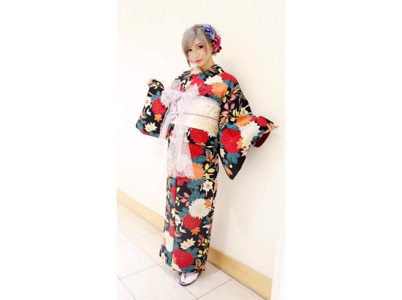 [Harajuku, Tokyo] walk in the authentic and luxurious kimono Harajuku! Kimono special plan ♪ Introduction image