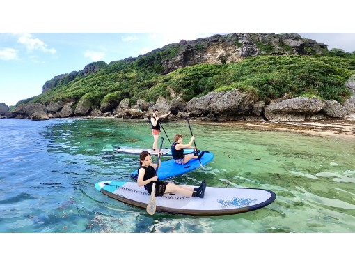 GoPro8撮影【沖縄 北谷 恩納村】海の上をお散歩!SUP体験
