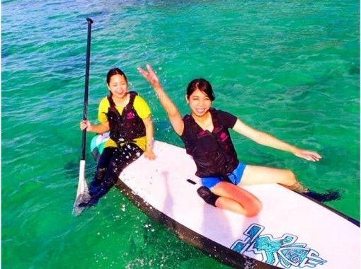 【沖縄 北谷 恩納村】海の上をお散歩!SUP体験
