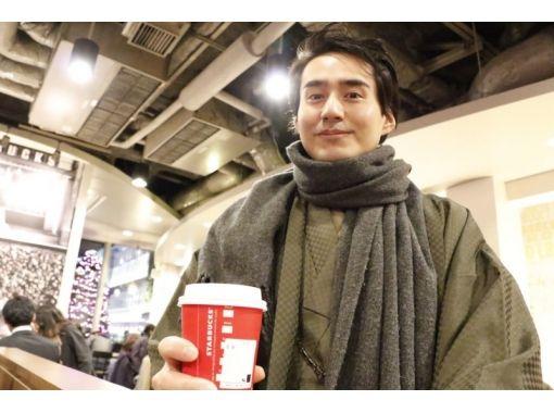 【東京・原宿】男性も着付け体験!着物メンズプラン(原宿駅から30秒)