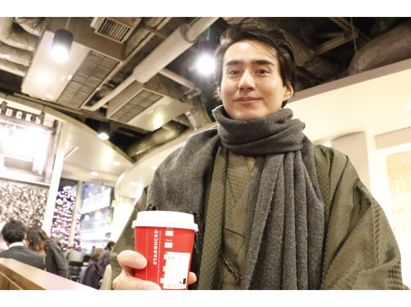【東京・原宿】男性も着付け体験!着物メンズプランの紹介画像
