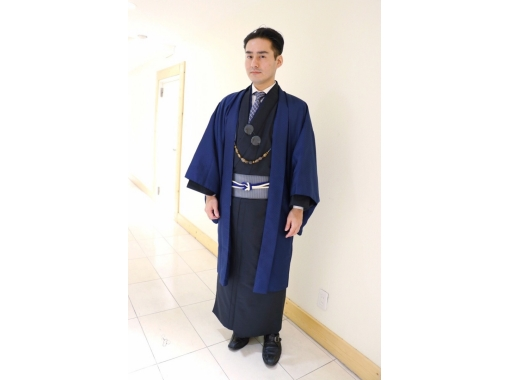 [Tokyo/ Harajuku]Male dressing experience! Kimono Men's Plan (30 seconds from Harajuku Station)の紹介画像