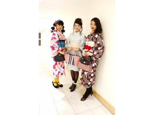 [Tokyo/ Harajuku] Cute experience in Harajuku! Lolita Kimono Plan / Absolute Fashion Icon (30 seconds from Harajuku Station)の紹介画像
