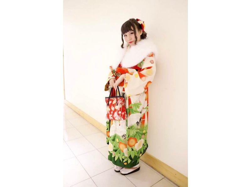 [Harajuku, Tokyo] dressed in a kimono! Casual long-sleeved kimono plan ♪ Introduction image