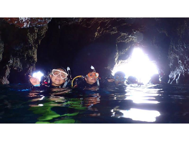 【沖縄・宮古島】ボート体験ダイビング(2ダイブ)・シュノーケリングフリーの紹介画像