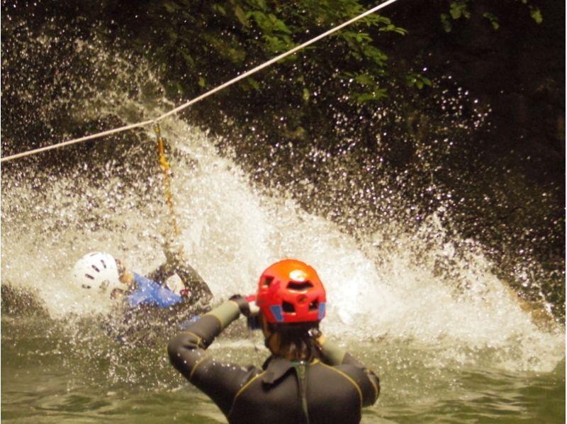 【Okutama Canyoning · Advance Course】 Canyoning one step up! Introduction image of experienced target