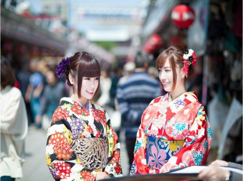 A 4-minute walk from [Kanagawa, kimono rental] Kamakura Station! Spend an elegant time in Kamakura × French Lunch! Introduction to image