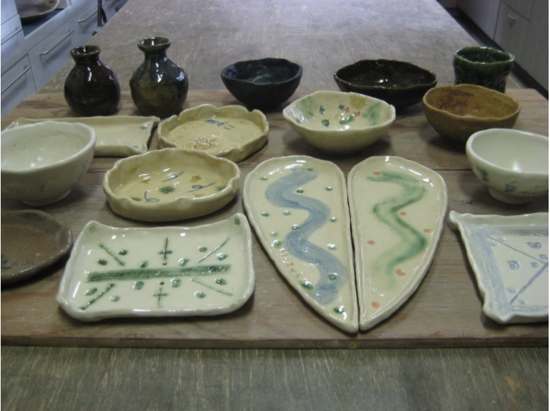 【Close to Gunma · Kusatsu Onsen ★】 Introduction picture of pottery experience (hand-made) 2 item course (about 120 minutes)