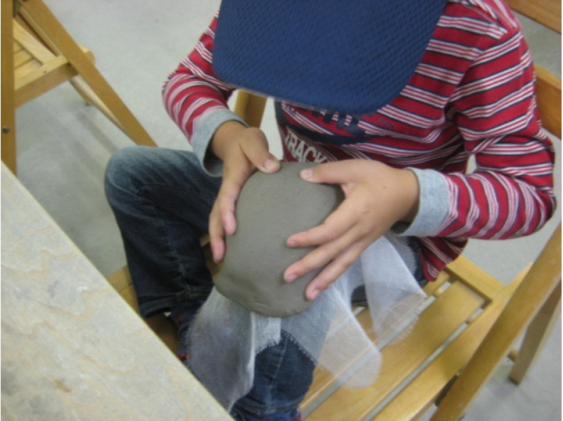 【Close to Gunma · Kusatsu Onsen ★】 Let's join in the family ★ Introduction image of pottery experience (class for toddlers: about 45 minutes)