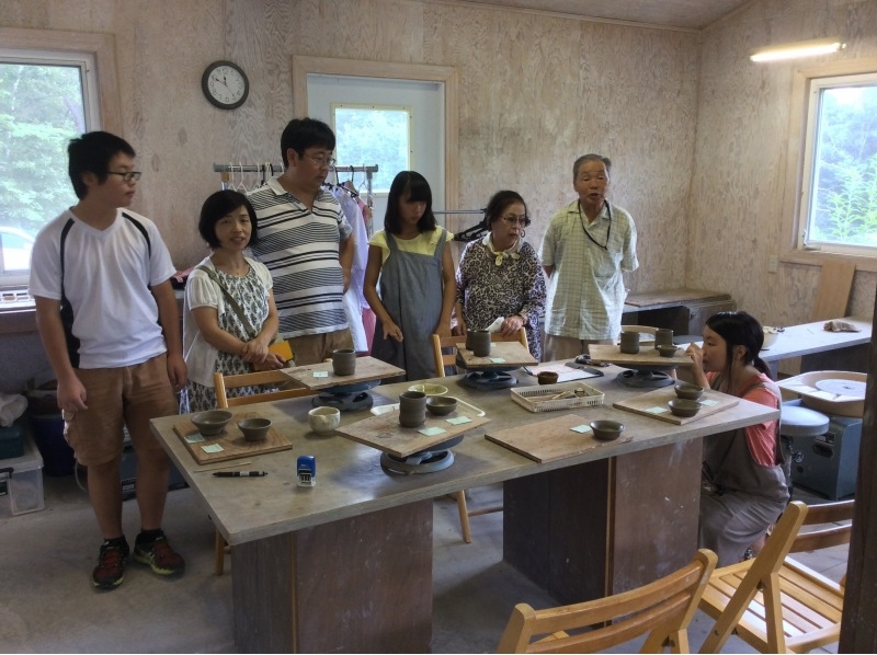 【Close to Gunma · Kusatsu Onsen ★】 Approximately 60 minutes and easy introduction image of pottery experience (Electric powered wheel experience: small class)