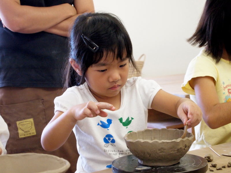 Kyoto pottery child