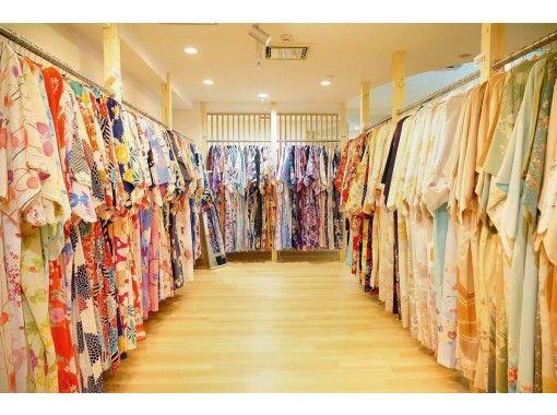 短時間でリーズナブルに着物・浴衣体験☆着物・浴衣レンタル 短時間割引きプラン