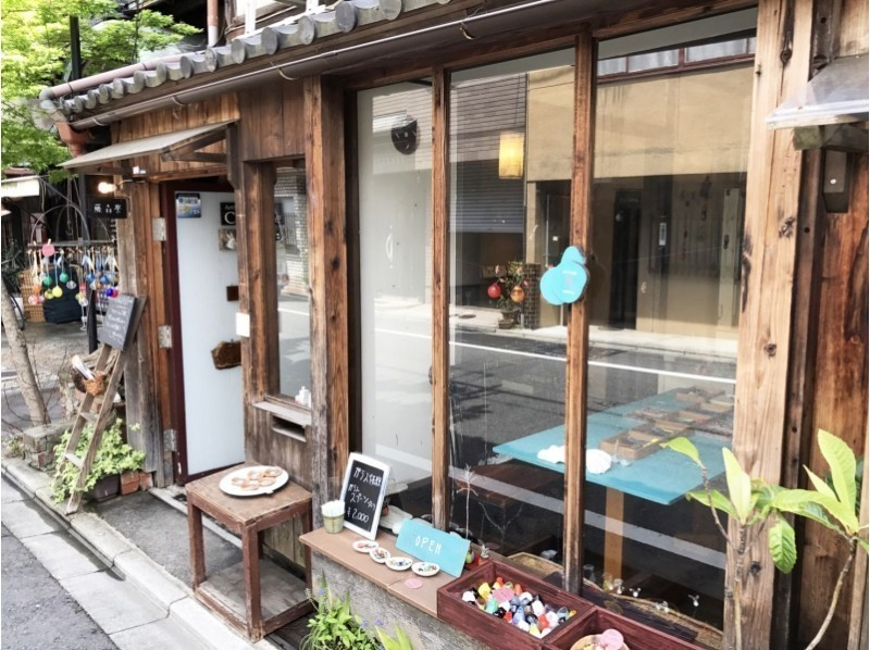 【Kyoto · Glassworker】 Made with Kyomachiya! Experience making tea spoon of glass! Introduction image of