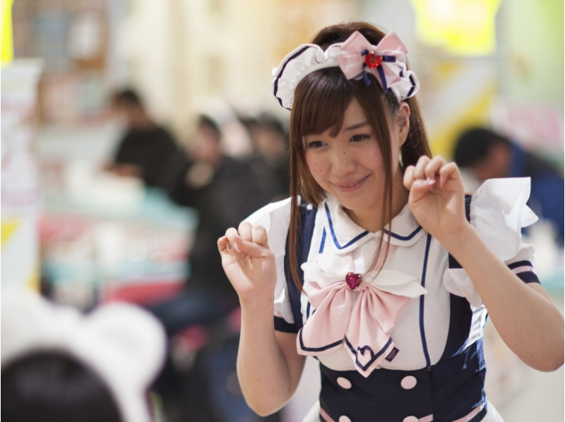 【Tokyo · Akihabara】 Touch Moe culture! Introduction picture of casual maid cafe experience [cafe plan]