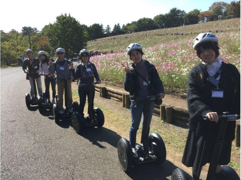 【東京・国営昭和記念公園】自然の中でセグウェイを楽しもう!ティータイム付き♪の紹介画像