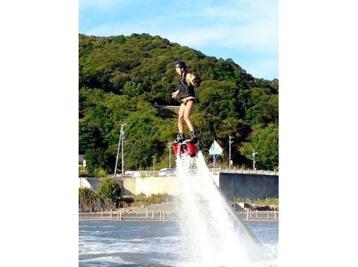 【静岡・浜名湖】人気マリンスポーツ★フライボード&ホバーボードの2種目体験コース(体験約30分)