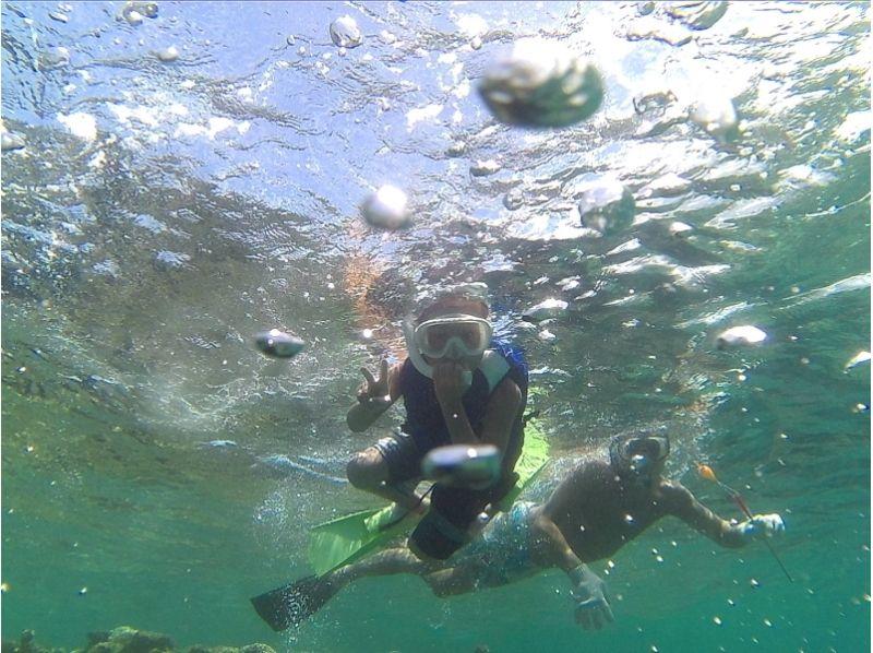 【沖縄・国頭村】沖縄本島北部でウェイクボード&シュノーケリングの紹介画像