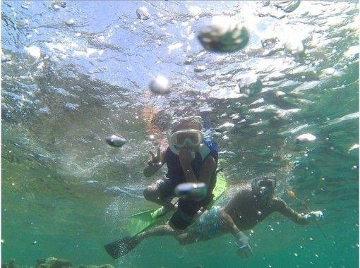 【沖縄北部・オクマ】シーカヤック&シュノーケリング体験の紹介画像