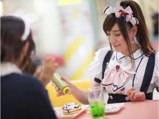 【大阪・難波】関西弁のメイドがキュート!メイドカフェ体験!〔カフェプラン〕