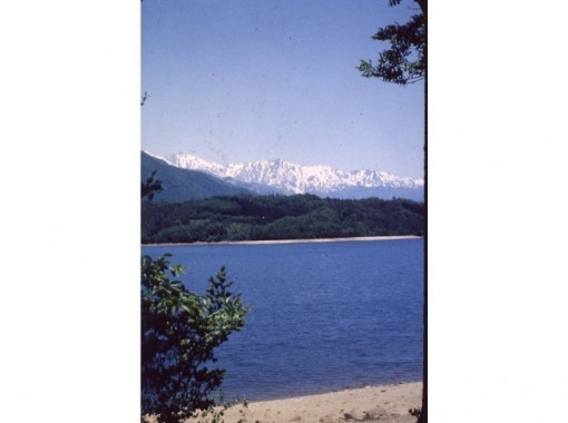 [Nagano / Omachi City Canoe] Lake Aoki Boyager Canoe de Experimental Tour Tea Timeの紹介画像