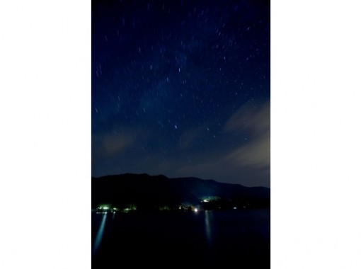 [Shinano Omachi superb view story at the foot of the Northern Alps] Lake Aoki firefly viewing cruiseの紹介画像