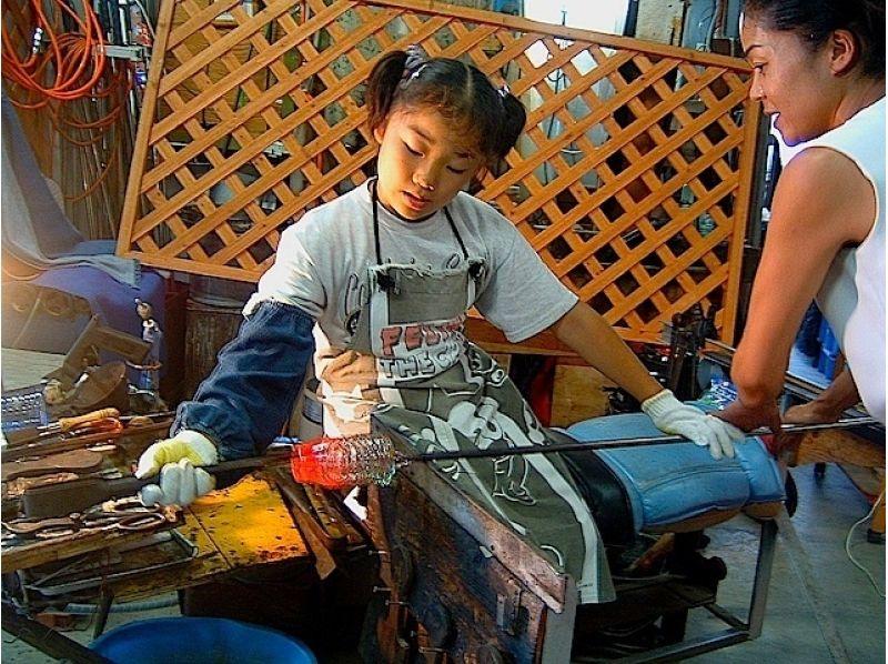 【千葉・鴨川】吹きガラス体験製作体験の紹介画像