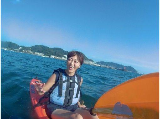【湘南・逗子】楽しく漕いでエクササイズ!スポーツカヤック(1日コース)