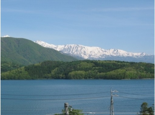 """[Nagano/ Omachi] Pottery experience """"Mute clay pottery"""" and Lake Aoki """"Voyager canoe"""" tour! With tea time of Japanese sweetsの紹介画像"""