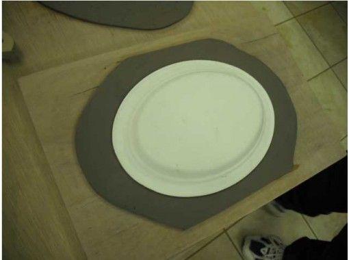 【千葉・袖ケ浦】板状の粘土で作る陶芸品「お皿作り体験」お子様・団体様大歓迎!手ぶらで参加できます
