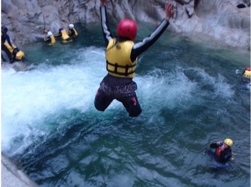 Plenty of tour time! Canyoning tour 1day that you can enjoy forever in a superb viewの紹介画像