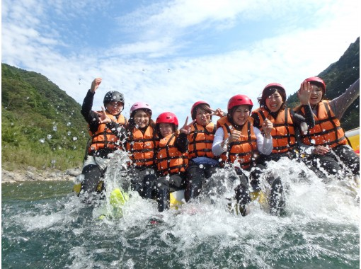 【熊本・球磨川】日本三大急流の一つ!球磨川でラフティング体験(PMコース)