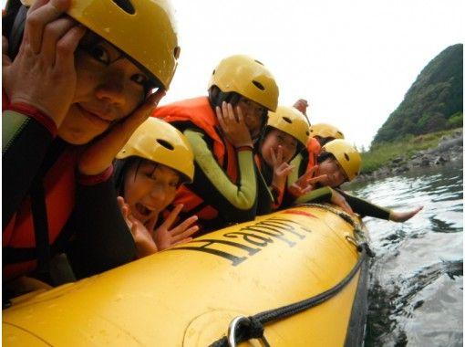 【熊本・球磨川】日本三大急流の一つ!球磨川でラフティング体験(PMコース)の紹介画像