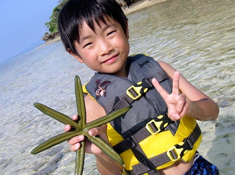 【沖縄・石垣島】川平湾内の島に渡って冒険!無人島渡しの紹介画像