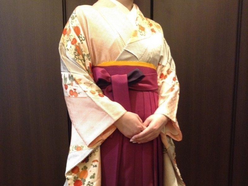 [東京五反田]東京漫步在袴圖的嚮往!隨意介紹圖像的褲裙租賃