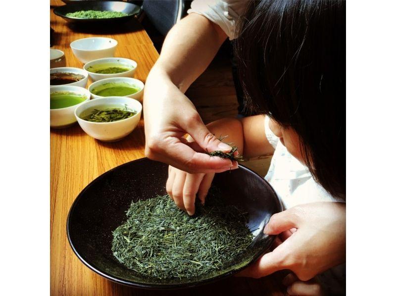 【静岡・清水】静岡茶の闘茶体験(お茶当てクイズ)&抹茶スイーツを堪能!の紹介画像