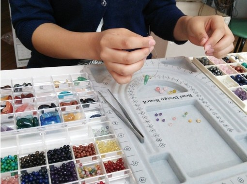 [岛根/Matsue]天然宝石饰品制作-原装皮带,项链和手镯!の紹介画像