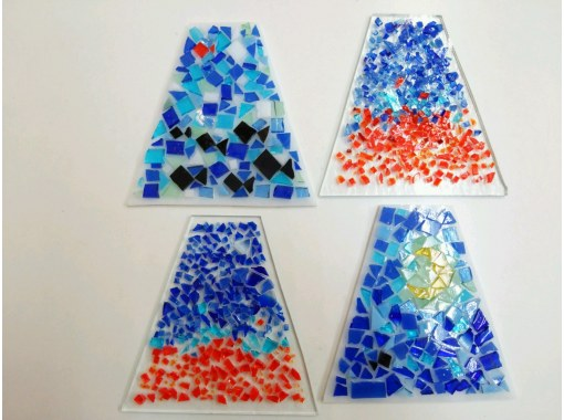 【島根・松江】自分でデザインしたパネルが本格派ランプに!「焼きガラスの四角アイアンベースランプ作り」の紹介画像