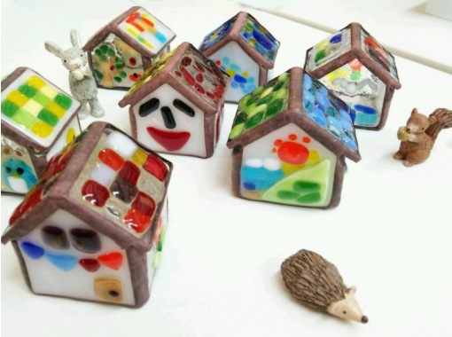 【島根・松江】焼きガラスで作る「小さなお家」ミニチュア付きも可愛い!の紹介画像