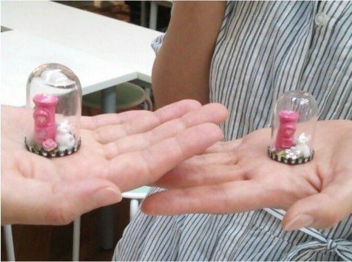 【島根・松江】「ピンクの幸運のポスト」のミニチュアで作るポストドーム