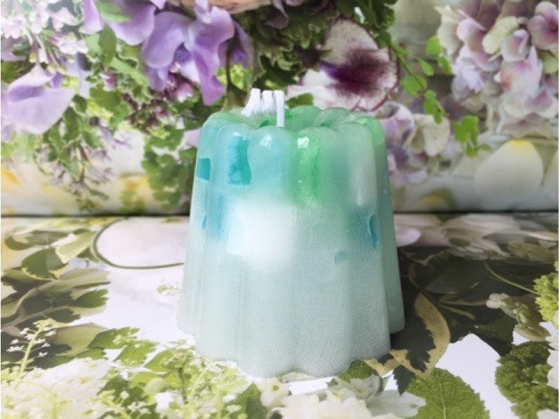 【3 minutes walk from Shijo station in Kyoto! 】 Introduction image of gel botanical soy & canula's candle making experience