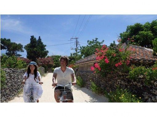 【沖縄】竹富島!水牛車・サイクリング Fコース