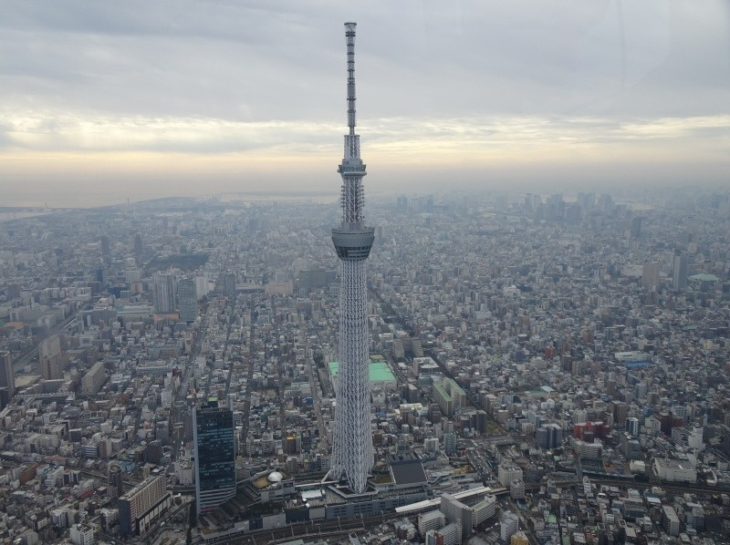 [Tokyo · Shinkiba] Large panorama from the sky! Introduction image of helicopter Tokyo tour [flight time: 15 minutes]