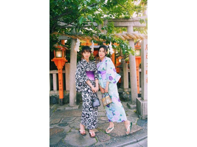 【Kyoto · Kiyomizu Temple Kimono rental】 Junior high school student · High school student only! Kimono rental · Yukata rental Introduction image of middle and high school discount plan