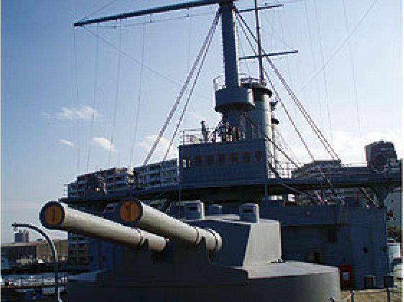 """午餐的介紹圖像 -   - 橫須賀軍港參觀和紀念艦""""三笠""""之旅<強大的戰艦之旅>海軍咖哩的[0007]"""
