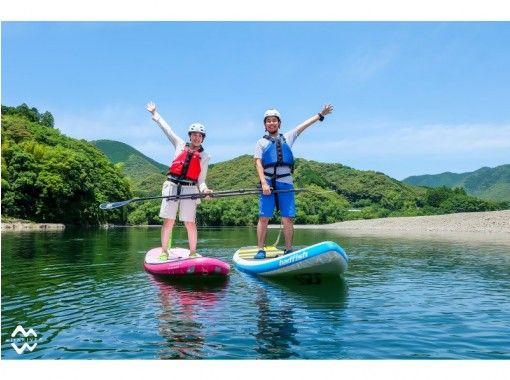 【四万十川で半日サップツアー!】 四万十川の大自然を地元ガイドがご案内!家族・友だち・みんなが楽しめる!