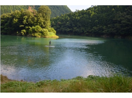 [Kyoto ・ SUP experience] Hiyoshi, Utsukyo SUP (SUP in magnificent nature) (2 hours plenty)の紹介画像