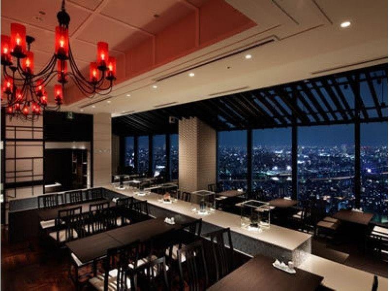 """4980日元驚喜!東京Solamachi(R)31層樓的""""小酒館CHINOIS斯巴魯""""中國的晚餐套餐簡介圖像[2363]"""