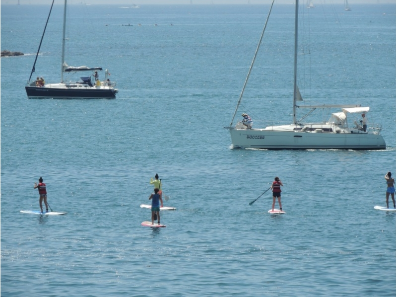 "【Kanagawa · Hayama】 A lot of private feeling! Introduction image of ""superb view & comfortable SUP cruising"""