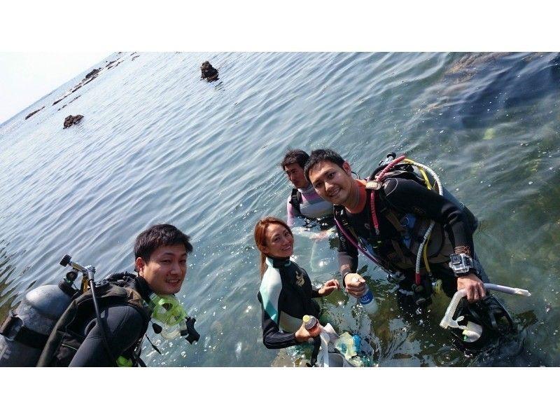 【神奈川・葉山】湘南・葉山に一番近いタンクサービス店♪  〔体験ダイビングコース〕の紹介画像